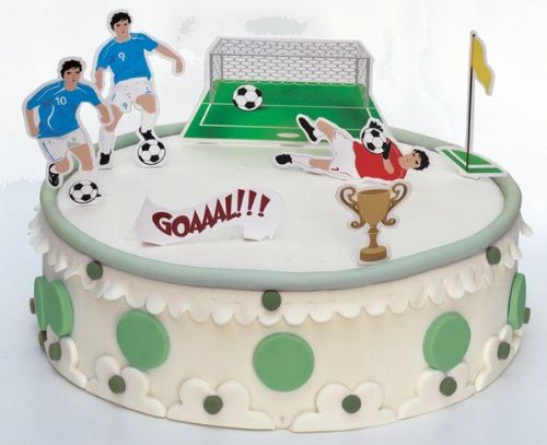 Football Cake Decorations Stand Ups Soccer MLS SPL PL World Cup European